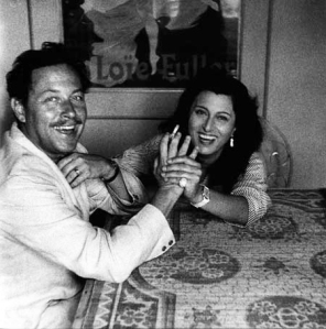 Tennessee Williams and Anna Magnani - click to enlarge