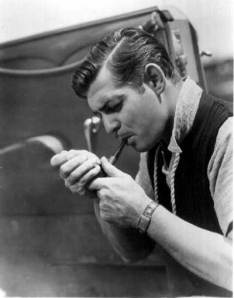 Clark Gable - click to enlarge