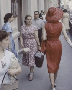 Christian Dior shows in Moscow (1959)