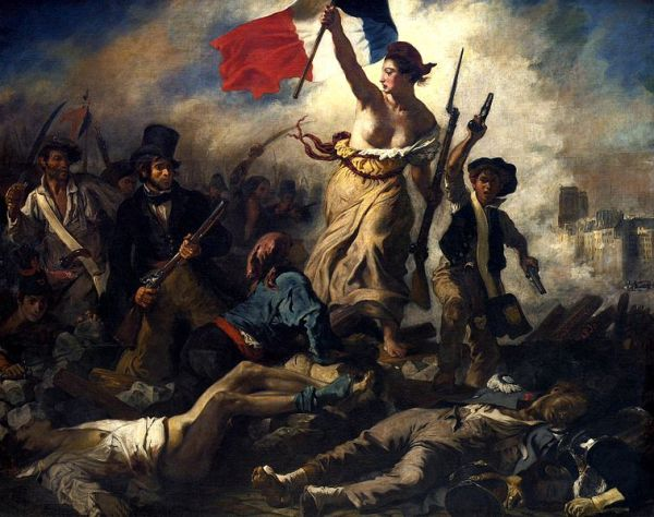 La Liberté guidant le peuple (1830) by Eugène Delacroix